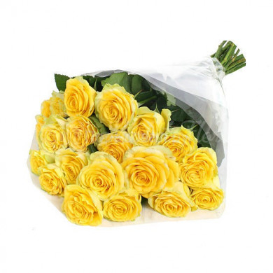 Букет из желтой розы